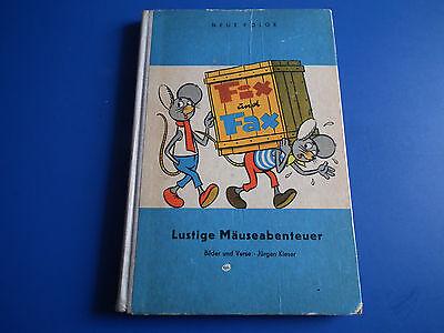 c Kinderbuch Lustige Mäuseabenteuer EA 1964 schöner Zustand (Batman Und Wonder Woman Kind)