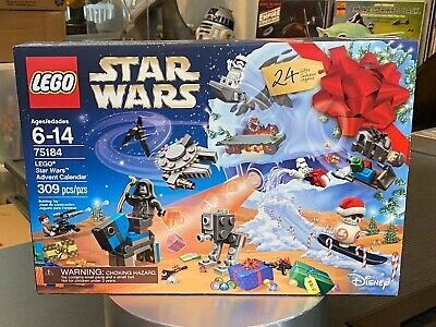 LEGO Star Wars Advent Calendar 75184 Building Kit NEW Factory Sealed MINT