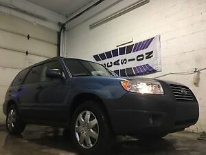 Subaru forester 2008 AWD** FINANCEMENT MAISON 9,9%*1AN GAR**