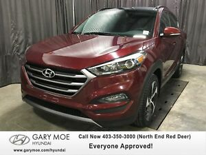 2016 Hyundai Tucson Limited Turbo Leather, Navigation-LOW KMS