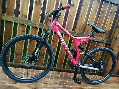 Specialized FSR XC Comp Full Suspension Mountain Bike, Size large ( will post)
