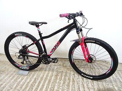 """Voodoo Soukri 27.5 Ladies/Girls Hardtail Mountain Bike 16"""" Sml Alloy Discs VGC"""
