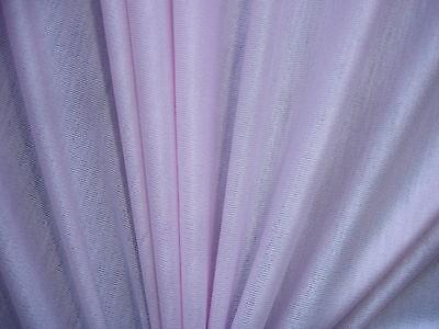 1 Lfm seidiger Jersey 2,65€/m² rosa Viskose mit Elasthan 132cm breit CC51
