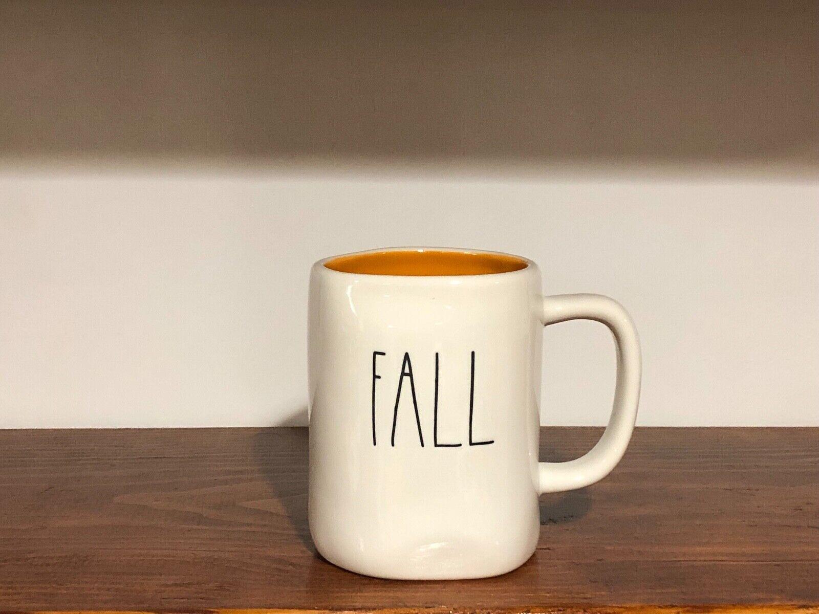 Rae Dunn Artisan Collection By Magenta Farmhouse LL Large Letter Coffee Tea Mug FALL Y'ALL