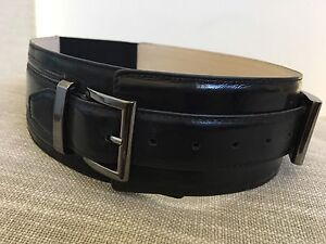 Cue black leather belt. Size small. Gungahlin Gungahlin Area Preview