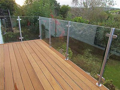 10mm Toughened Glass Panel Balcony - Bespoke, Any Size
