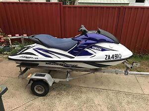 YAMAHA 2 SEAT EXCELLENT CONDITION ON TIPPING TRAILER Toorbul Caboolture Area Preview
