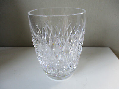 WATERFORD CRYSTAL Boyne WHISKY TUMBLER fully signed old mark