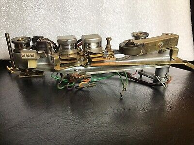 """Revox A77 Reel to Reel 1/4"""" Tape Machine HEADS/PINCH ROLLER ASSEMBLY."""