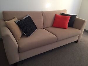 2 Freedom Enzo 3 seater sofas + ottoman Donvale Manningham Area Preview