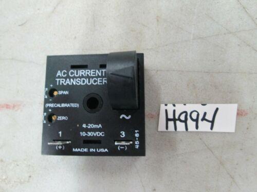 ABB AC Current Transducer P/N TC5A5 SSAC Sense Current: 0-5 Amp (New)