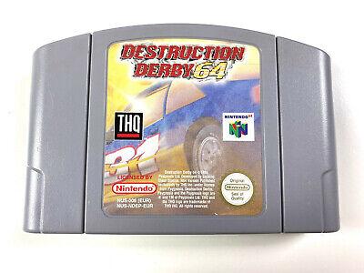 Destruction Derby 64 - N64 Nintendo 64 PAL EUR