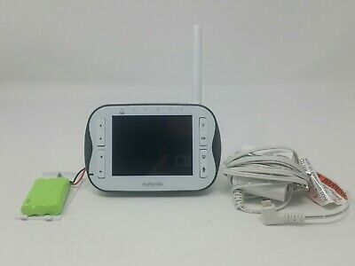 Motorola MBP43SPU Baby Monitor 3.5-Inch LCD Parent Unit with Cords, TESTED