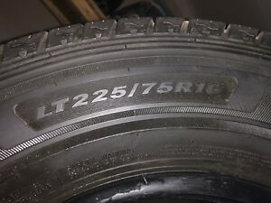 New Condition Tires.  LT225/75R16