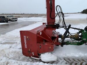 Normand n-92 oscillating snowblower