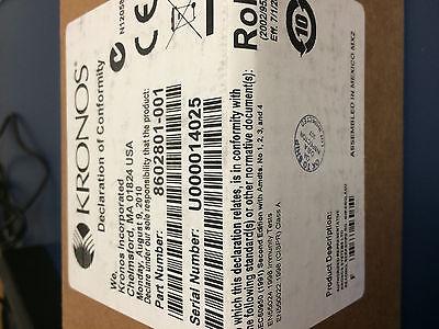 !!!!!NEW!!!!! 8602801-001 Biometric Fingerprint scanner for Kronos 4500 Clocks
