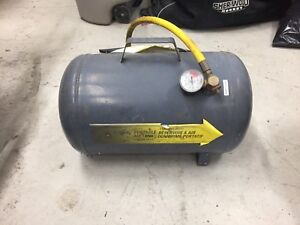 Reservoir air portable air tank