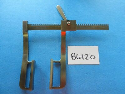 Pilling Surgical Thoracic Gerbode Sternal Retractor 34-1181