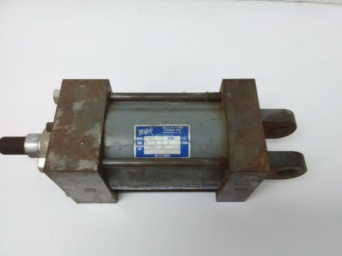"Miller Pneumatic Cylinder A84B 3-1/4"" Bore 3"" Stroke 250 Psi"