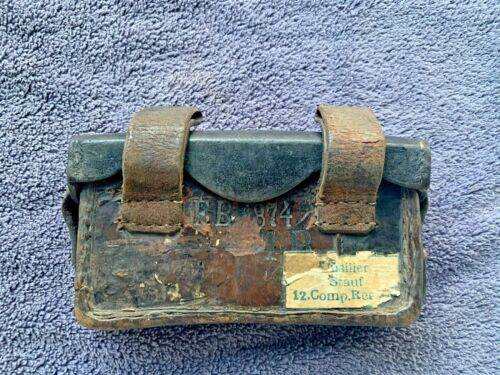 German 1874 Dated Ammo Pouch #5