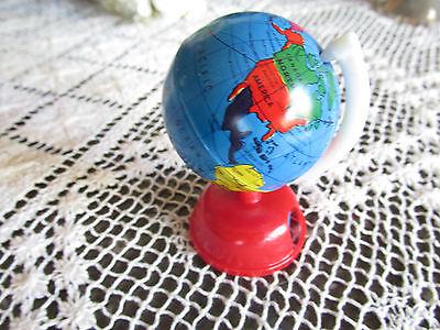 Vintage Boxed Globe Pencil Sharpener Old Collectible Globe Pencil Sharpener *