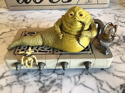 Vintage Star Wars Jabba The Hutt Playset COMPLETE w/Instructions