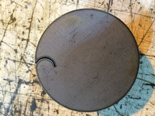 """1/4"""" .250  40 PIECES SET HRO Steel Sheet Plate Disc Shaped 2 3/8""""  Round drops"""