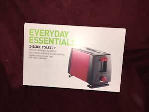 Red toaster for sale!
