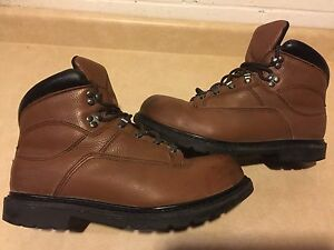 "Men's ""Work by Red Wing Shoes"" Steel Toe Work Boots Size 12"