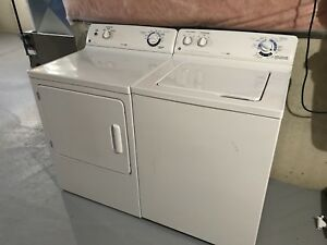 GE washer and dryer pair commercial quality