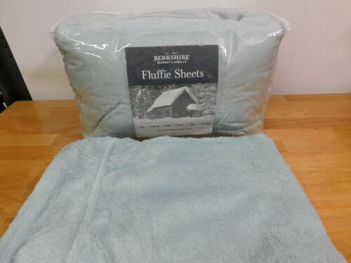 Berkshire Blanket Fluffie Twin XL Sheet Set-Seaglass-H216836