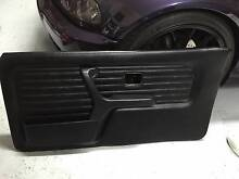 BMW E30 COUPE FRONT AND REAR BLACK VINYL DOOR CARDS Castle Hill The Hills District Preview