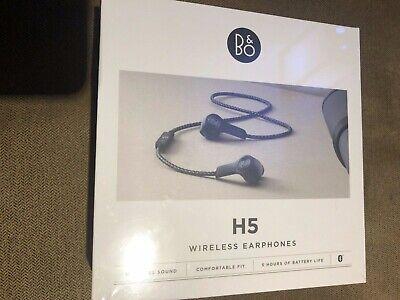 BRAND NEW!! Bang & Olufsen Beoplay H5 Wireless Earphones in BOX