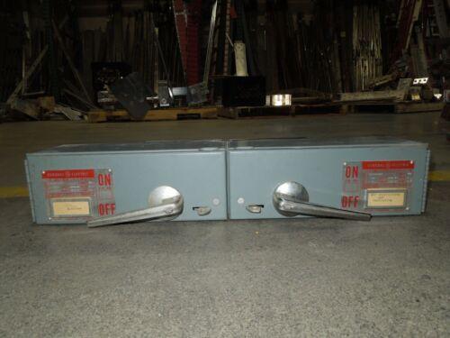 Ge Dd2d2322/dd2d1321 60/30a Twin 3ph 240v Fused Panelboard Switch W/ Hardware