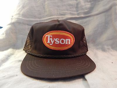 Vintage Advertising Trucker Hat Plantation Tyson Foods