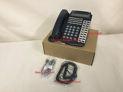 Nec Electra Professional Etw-16dd-2 Black Display Speakerphone 730215