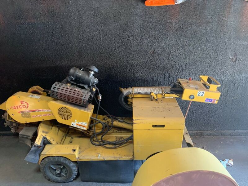 stump grinder 2012 rayco rg1625
