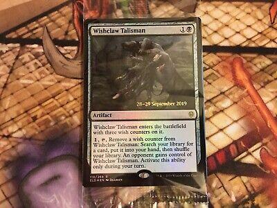 MTG: Wishclaw Talisman (Throne of Eldraine Prerelease Foil) Sealed