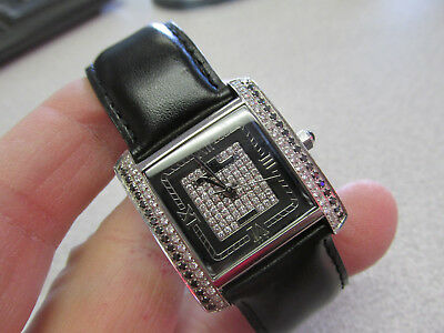 Lucien Piccard Black and White Diamond Quartz Watch for Man or Woman  Make Offer