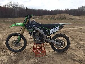 2013 Kx 250f LOW HOURS BEST OFFER