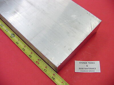 2 X 5 Aluminum 6061 Flat Bar 18 Long Solid T6511 Extruded Mill Bar Stock