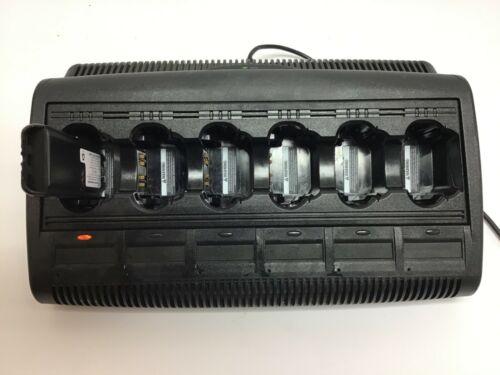 Motorola Impres WPLN4121BR 6 Bank Battery Charger XTS5000 XTS3000 MTS2000 HT1000