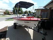 14 FT FIBREGLASS FISHING BOAT WITH LOADS OF EXTRAS Connewarre Geelong City Preview