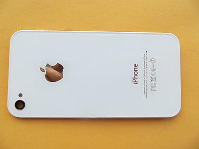 White  Glass full back Battery Cover Case Door for iPhone 4S on Rummage