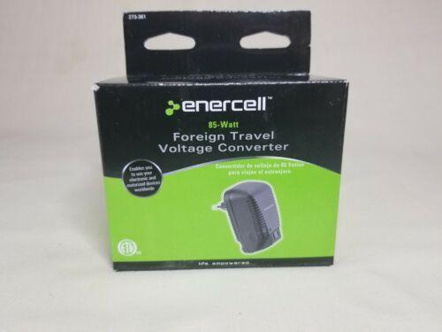 Enercell 85-Watt Foreign Travel Voltage Converter