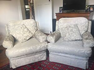 Two Large Comfy Armchairs Burwood Heights Burwood Area Preview