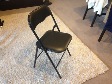 Folding chairs & IKEA TERJE Folding chair black X 3 | Dining Chairs | Gumtree ...