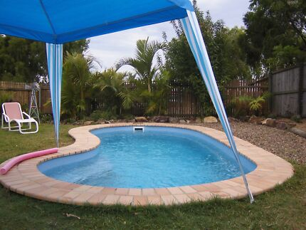 FIBREGLASS SWIMMIMG POOL.......FULLY INSTALLED