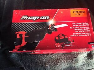 Snap on recipocating saw 18v Blacktown Blacktown Area Preview