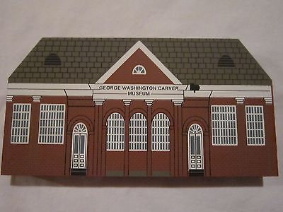 GEORGE WASHINGTON CARVER MUSEUM 1994 BLACK HERITAGE SERIES CAT'S MEOW VILLAGE NM
